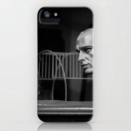 Serious Conversation iPhone Case