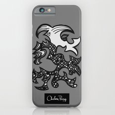 Kissing Dragon Black and white Slim Case iPhone 6s