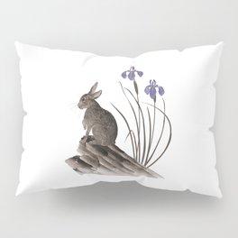 Springtime Rabbit Pillow Sham