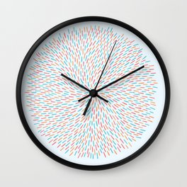 Circle Murmuration Wall Clock