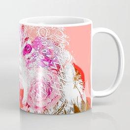 Wolf tattoo color Coffee Mug