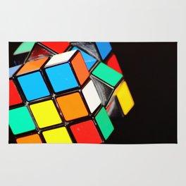 Rubik cube Rug