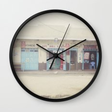 open for business::kenya Wall Clock