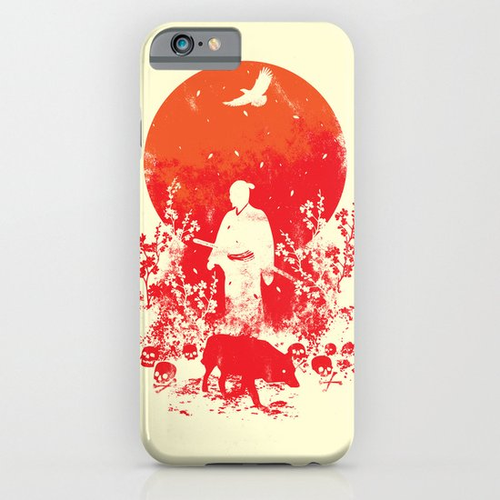 red sun iPhone & iPod Case