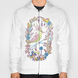 exotic bird Hoody