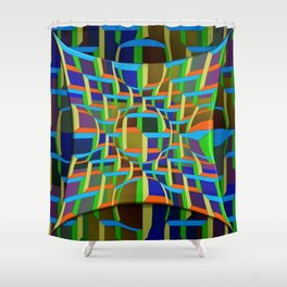 Opt-In, 2400x Shower Curtain