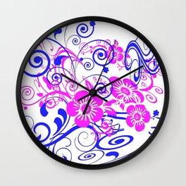 Patternbp1 Wall Clock