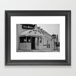 Jersey Nights (The Stone Pony) Framed Art Print