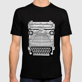 patent art Granville Type Writer 1900 T-shirt