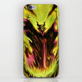 Maleficent iPhone Skin