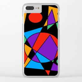 Abstract #85 Clear iPhone Case