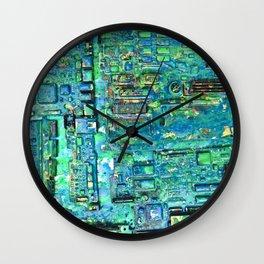 Wet Paint Factory Wall Clock