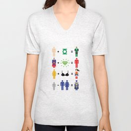 JLA Math Unisex V-Neck