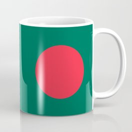 Flag of Bangladesh, High quality authentic HD version Coffee Mug
