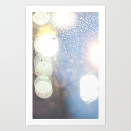 Rain Smell Art Print