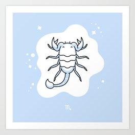 Zodiac: Scorpio Art Print