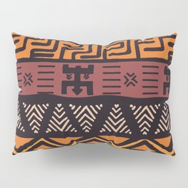 Tribal ethnic geometric pattern 021 Pillow Sham