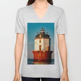 Light House for sale Unisex V-Neck
