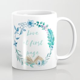 Summer Love at First Page Coffee Mug