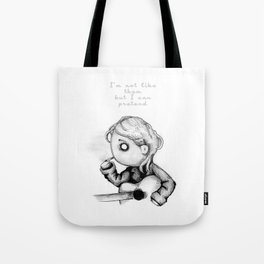 Kurt Plush Tote Bag