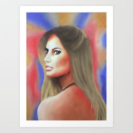 Brazilian beauty Art Print