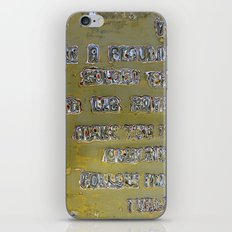 Pickup Lines - Golden Baby iPhone & iPod Skin