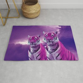 Purple Tiger Rug