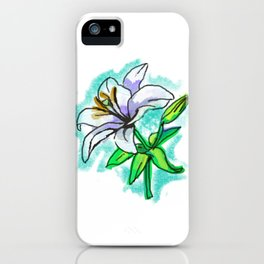 LILY ME UP iPhone Case