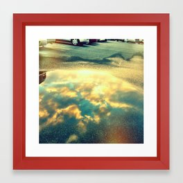 reflect 2 Framed Art Print