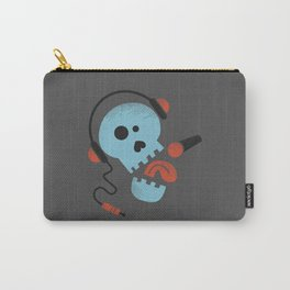 Calavera rockera / Rocking skull Carry-All Pouch