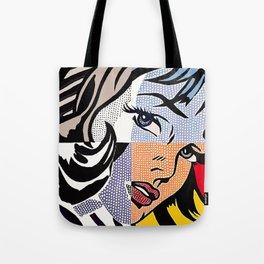 Lichtenstein's Girl Tote Bag