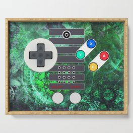 Classic Steampunk Game Controller Serving Tray