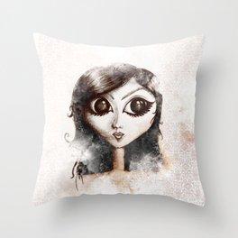 Alien-ada Throw Pillow