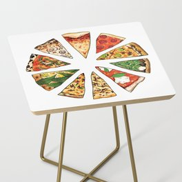 Feast of St. Pizza: Philadelphia Edition Side Table