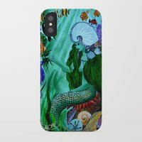 little mermaid iPhone & iPod Cases featuring Little Mermaid. by Sylvie Heasman
