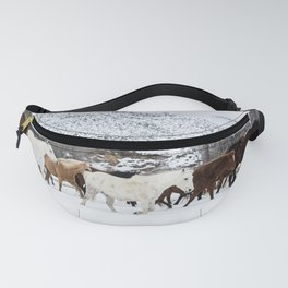 Carol Highsmith - Wild Horses Fanny Pack