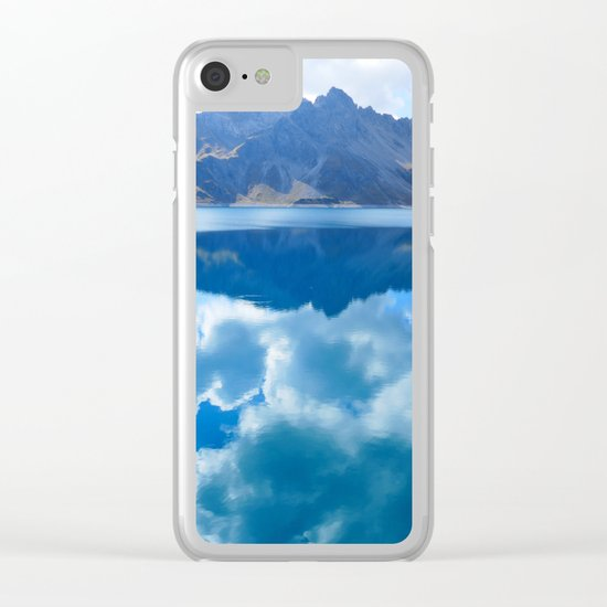 Lüner Lake, Austria Clear iPhone Case