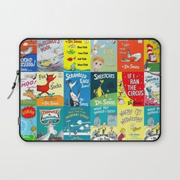 Dr. Seuss Book Covers Laptop Sleeve