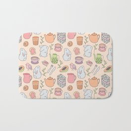 Breakfast with the Bunnies Bath Mat
