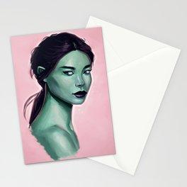 Elf Portrait Stationery Cards