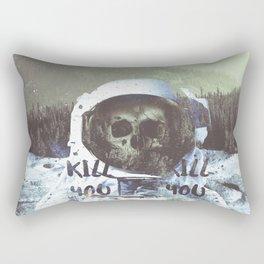 Dead Astronaut Space Rectangular Pillow