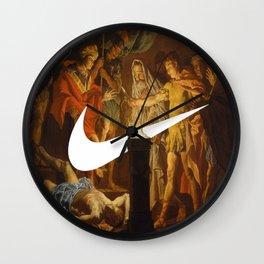 Cease & Desist Wall Clock