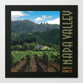 Napa Valley - Far Niente Winery, Oakville District Canvas Print
