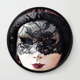 acheter mieux officiel sortie de gros Masque Wall Clocks | Society6