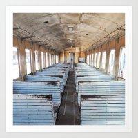 train Art Prints featuring Train by Advoya