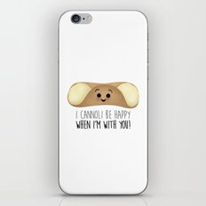 I Cannoli Be Happy When I'm With You! iPhone & iPod Skin