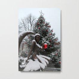 Bewitching Christmas Metal Print