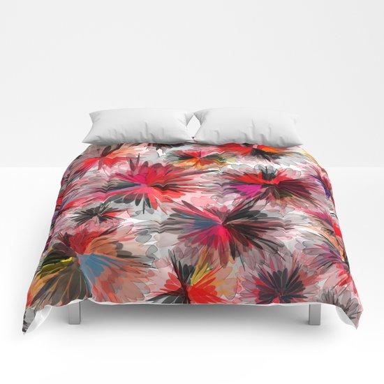 Flower carpet(33). Comforters
