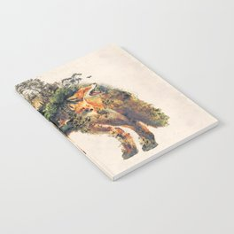 The Fox Nature Surrealism Notebook