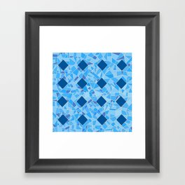 AFE Abstract Mosaic Pattern2 Framed Art Print